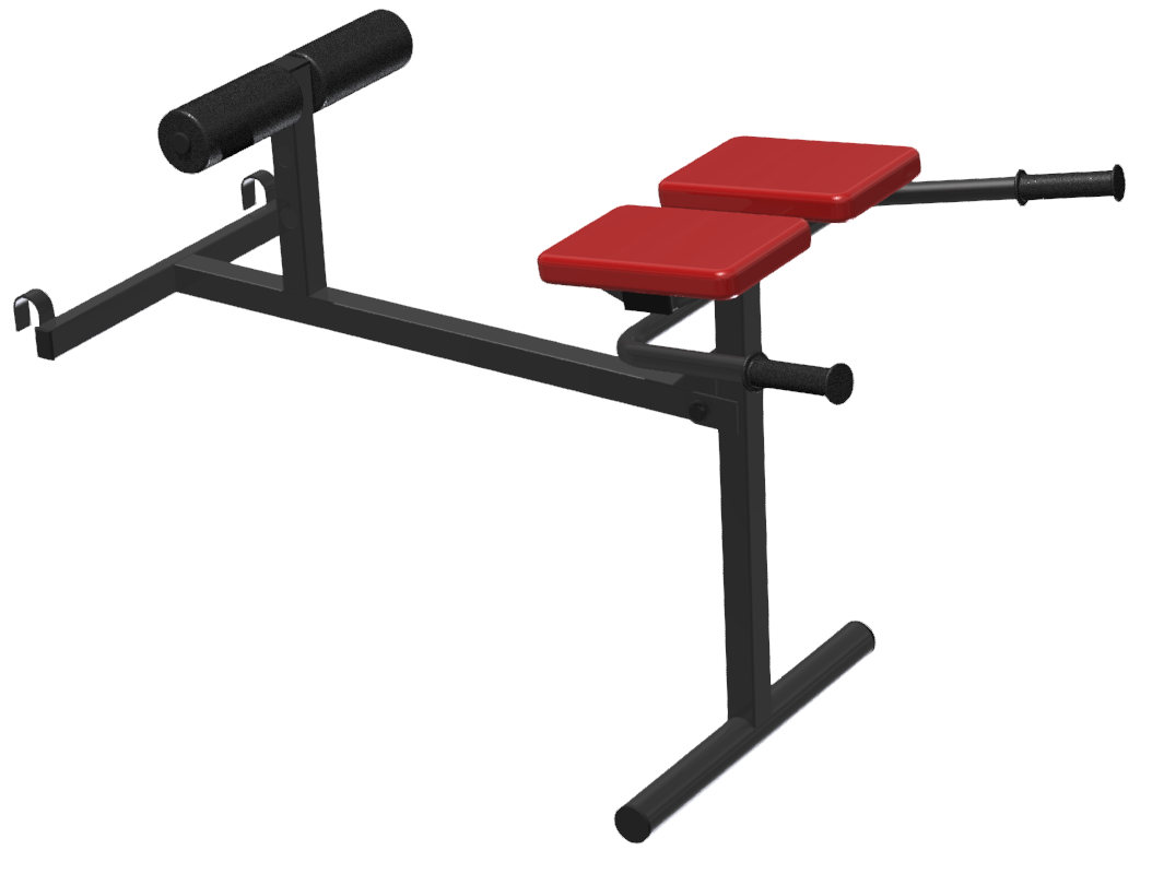 FSI Analytica / Hinged hyperextension for wall bars