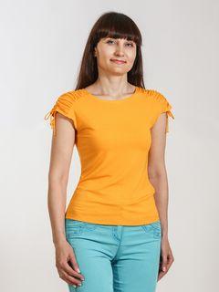 Blouse lightweight stretch-knit