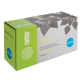 Toner Cartridge CACTUS (CS-C9732A) for HP Color LaserJet 5500/5550, yellow, yield 12,000 pages