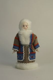 Doll gift. Northern costume. Nenets.