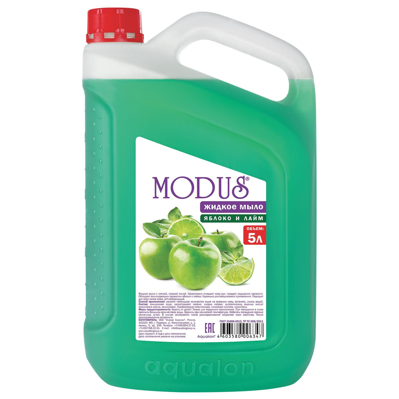 """Liquid soap 5 litre MODUS """"Apple and lime"""""""