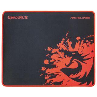 REDRAGON / Gaming mouse pad Archelon M, fabric + rubber, 330x260x5 mm, black
