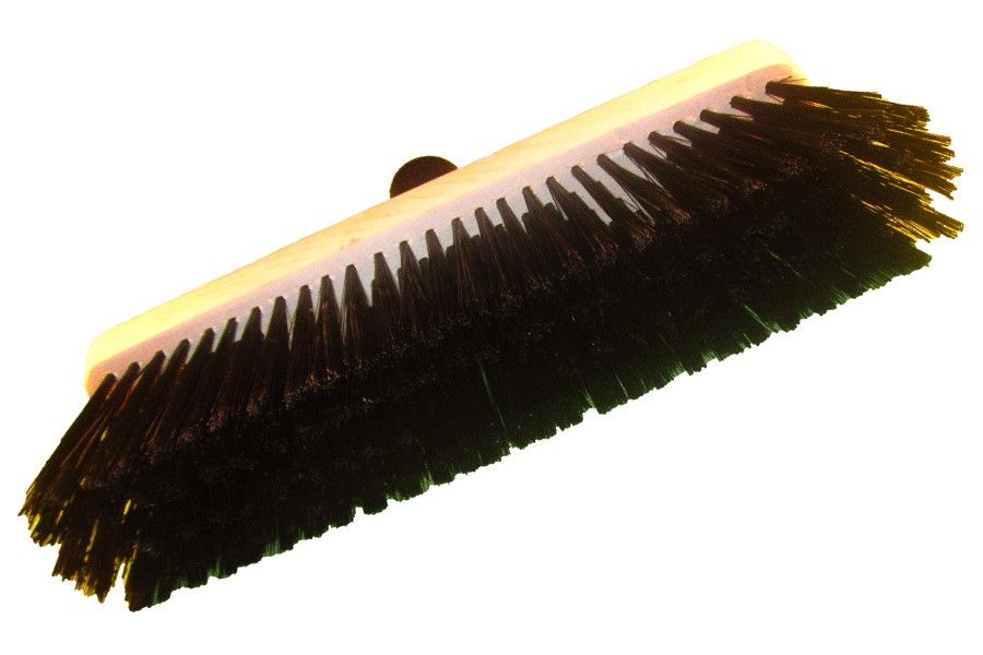 Torzhok brushware enterprise / C1 wooden floor brush, lacquered