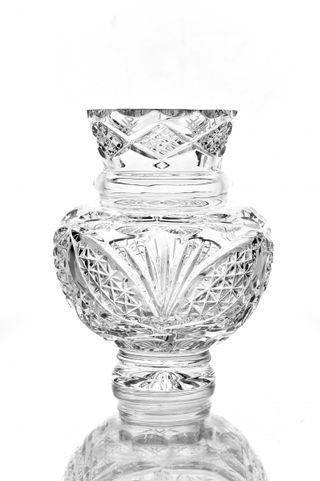 "Crystal vase for flowers ""Surprise"""