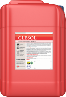 Clesol acid detergent for water of any hardness