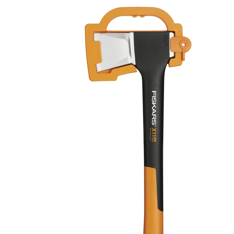 FiSKARS X11-S axe, 444 mm length, 1100g weight, FiberComp
