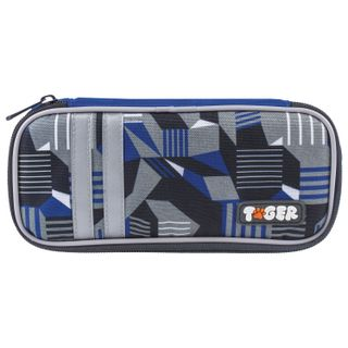 Pencil case TIGER FAMILY, 1 compartment, removable drop strap,