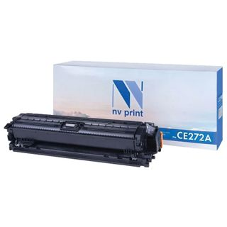 Laser Cartridge NV PRINT (NV-CE272A) for HP CP5525dn / CP5525n / M750dn / M750n, yellow, yield 15,000 pages