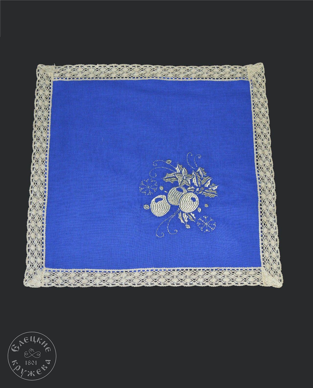 Yelets lace / Linen napkin С 11735Ц