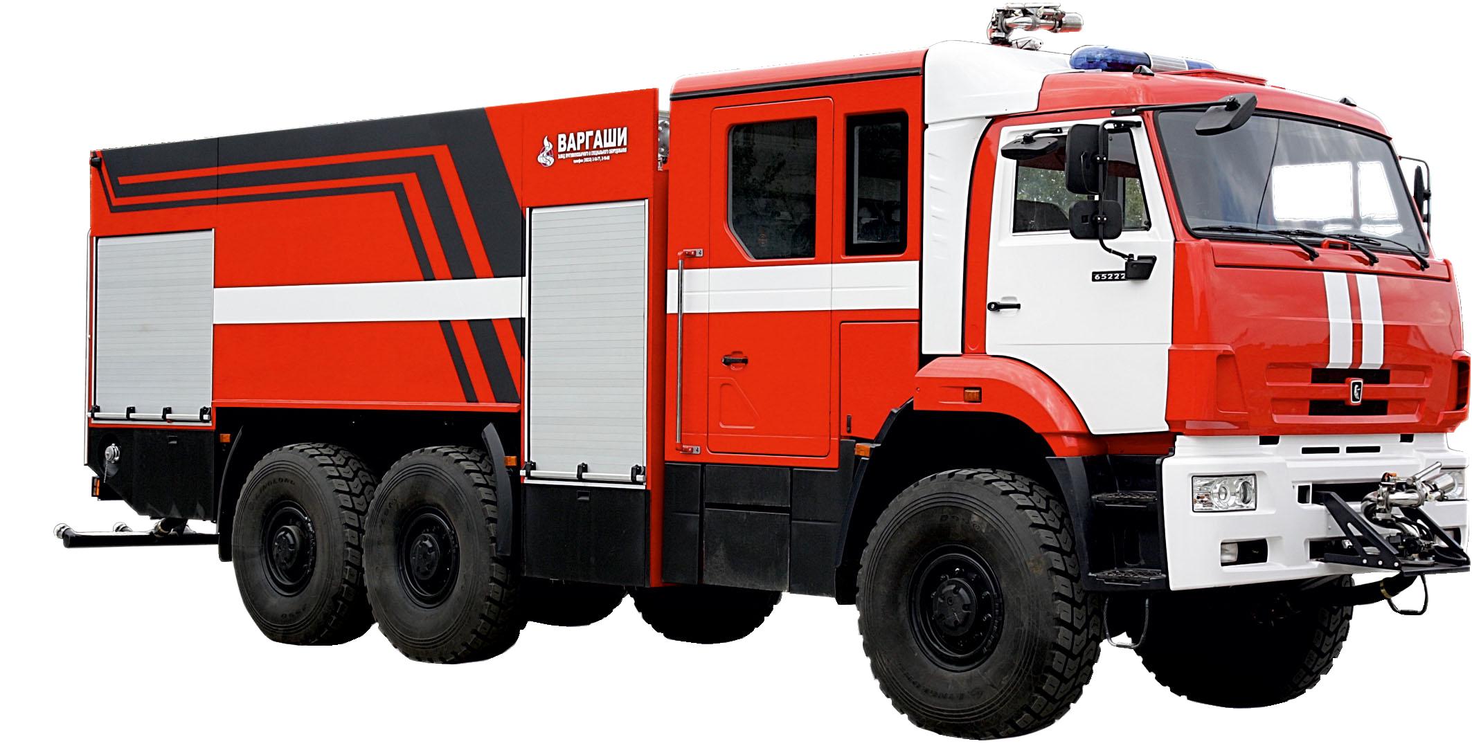 The aerodrome vehicle AA-9.0- (60-70) -50/3 (KAMAZ-65222) -33VR