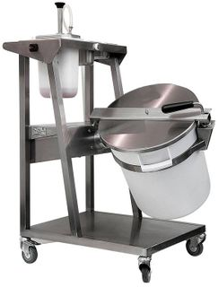 Mixer for adding food additives
