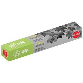CACTUS Toner (CS-EXV49Y) for Canon IR C3320 / C3320i / C3500 and others, Yellow, 19,000 pages