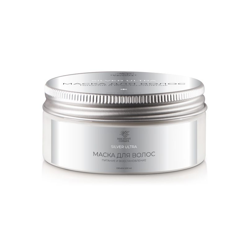 """Institute of Silver / Hair Mask """"SILVER ULTRA Nutrition and Recovery"""" 300 ml"""
