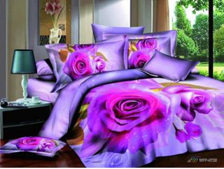 Satin bed linen 3D tender