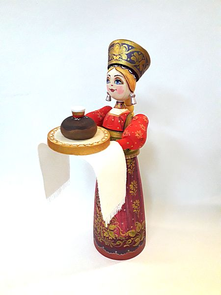 """Tver souvenirs / Composition """"Bread and salt"""""""