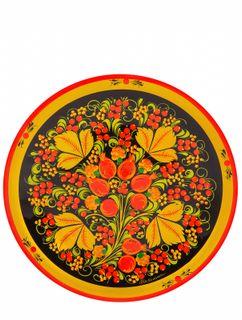 Khokhloma painting / Plate-panel 250x20 mm