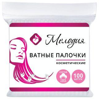 MELODY / Cotton swabs SET 100 pcs., Plastic bag
