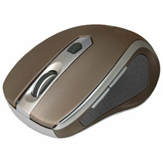 DEFENDER / Wireless mouse Safari MM-675, USB, 5-buttons + 1 wheel-button, optical, brown