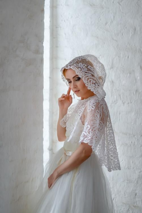 "Women's drape lace ""Wedding"""