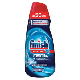 FINISH / Gel for washing dishes in dishwashers All in 1,