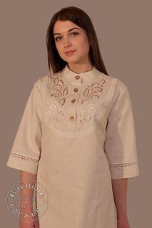 Dress womens linen С11743