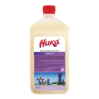 Means for removing oil-oil and stubborn dirt 1 kg NIKA-4, liquid