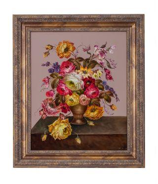 Zhostovo / Painting by Tatiana Ageeva 48 x 55 cm