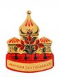 Wooden magnet 'Moskva Zlatoglavaya' - view 1