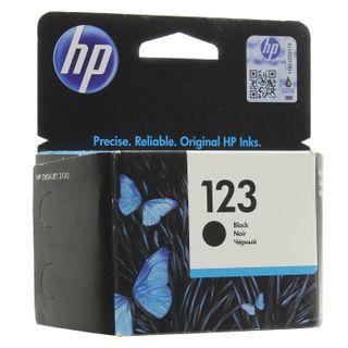 Inkjet cartridge HP (F6V17AE) Deskjet 2130, # 123, black, original, resource 120 pages.