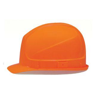 UVEX / Safety helmet Super boss ORANGE, strap adjustment mechanism, plastic headband