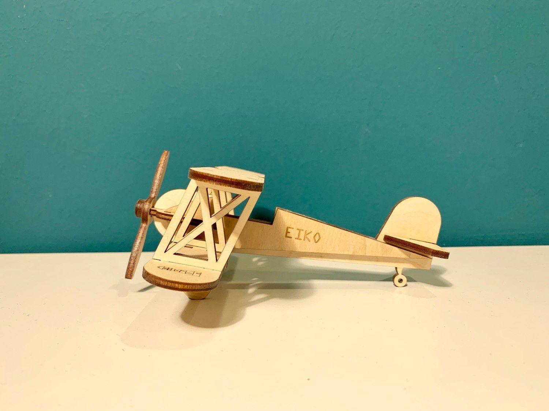 Wooden prefabricated plane