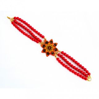 "Jewelry with miniature bracelet ""Dahlia"""
