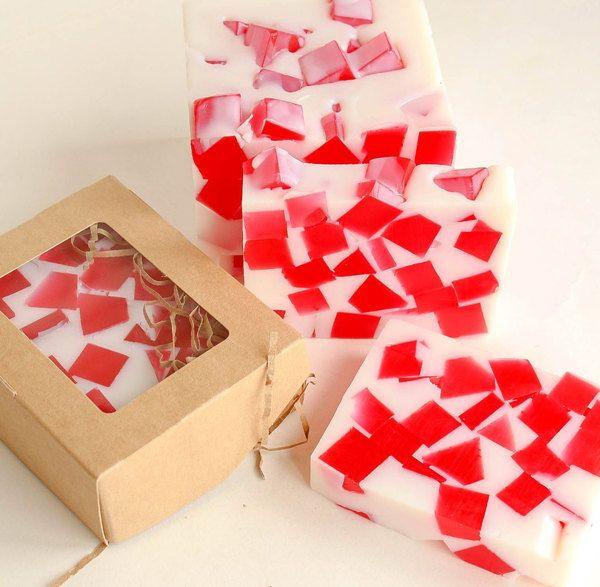 Strawberry Marshmallow 1kg whetstone - handmade soap
