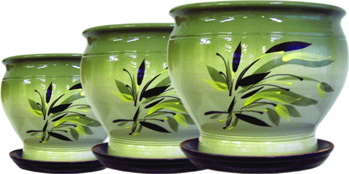 "Tarus artist / Flowerpot ""Plantain"", 5.5 l"