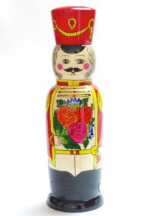 Souvenir case 'Gusar' - a damask for a 0.5-liter bottle