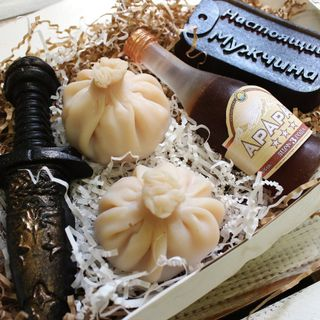Handmade soap set Georgian history