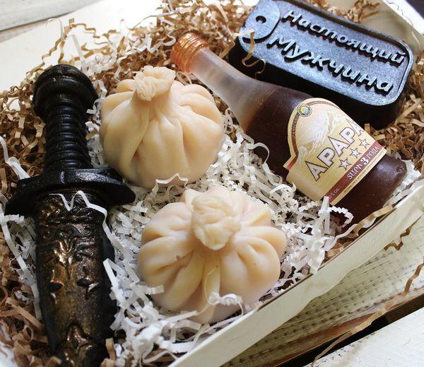 Handmade soap set Georgian history