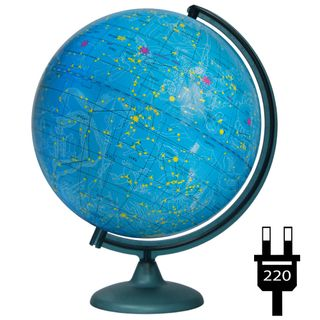 The celestial globe with a diameter of 320 mm with backlight