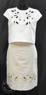 Skirt womens linen