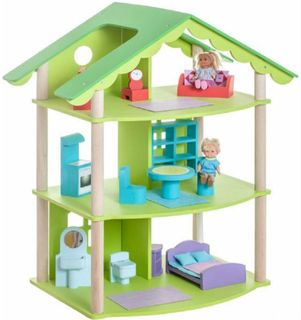 """Wooden doll house """"Fiolent"""""""