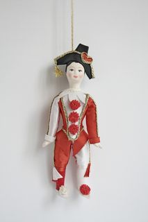Harlequin doll