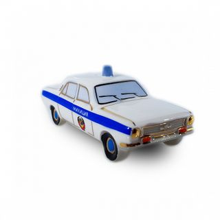 "Christmas tree toy ""GAZ 2410 Volga - Police"""
