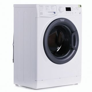 HOTPOINT VMSG702B washing machine, 1000 rpm, 7 kg, front loading, 60 x44 x85 cm, white