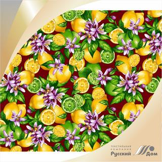 Canvas waffle No. 622 Lemons