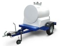 Trailer-tank for transportation of milk, kvass up to 1200 liters