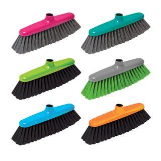 "YORK / ""Elizabeth"" brush for cleaning, width 29 cm, bristles 7 cm, plastic, Euro thread fastening"