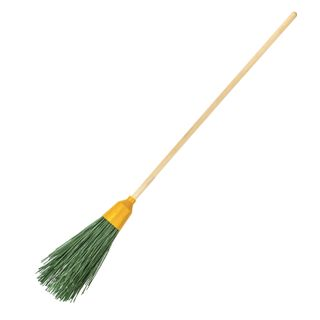 """LIMA / Broom EXPERT synthetic round """"PRIMA"""", 4 rings, with a handle, 120 cm, plastic"""