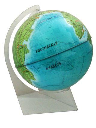 A souvenir globe of Rostov region