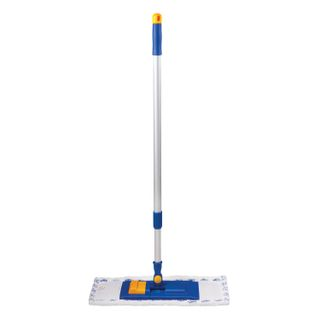 LIMA / Mop with flounder 40 cm, telescopic handle 130 cm, thread 1.6 cm, microfiber / abrasive (TYPE K)