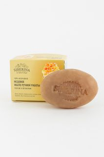 "Natural soap ""Honey"" SIBERINA"